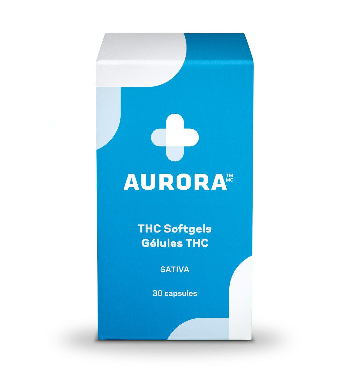 Aurora THC Softgels (Sativa)